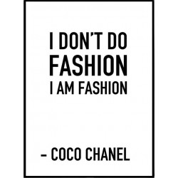 I am fashion Poster