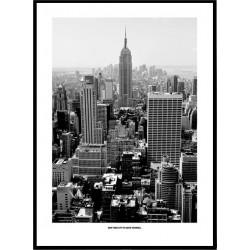 Black & White New York Poster
