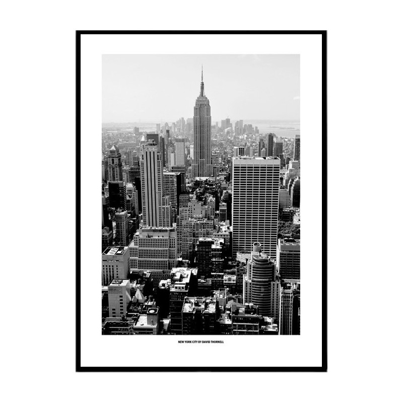 black white new york poster find your posters at. Black Bedroom Furniture Sets. Home Design Ideas