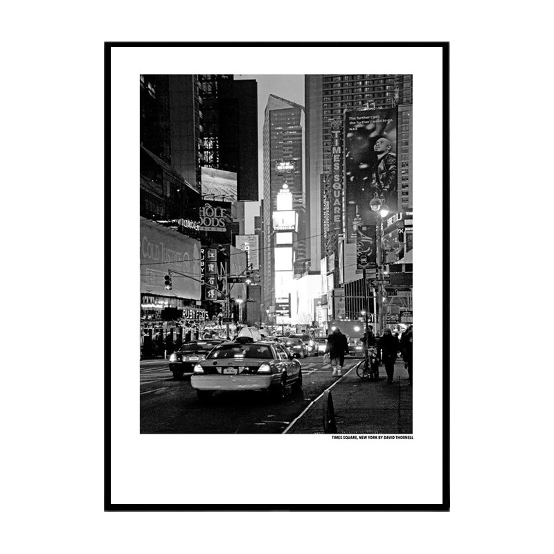 times square new york poster find your posters at wallstars online shop today. Black Bedroom Furniture Sets. Home Design Ideas
