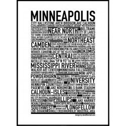 Minneapolis Poster