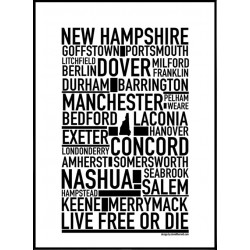 New Hampshire Poster