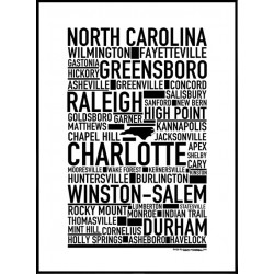 North Carolina Poster