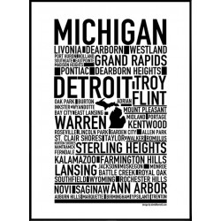 Michigan Poster