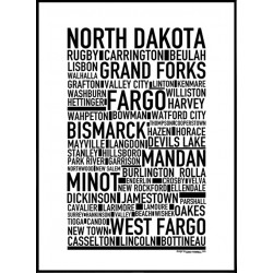 North Dakota Poster
