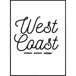 West Coast Poster