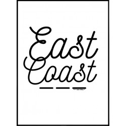 East Coast Poster