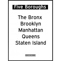 Five Boroughs Poster