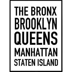 Five Borough Poster