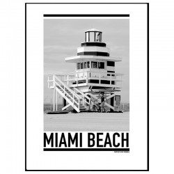 Miami Lifeguard Poster
