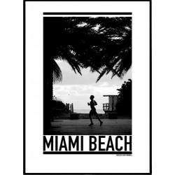 Miami Jogger Poster