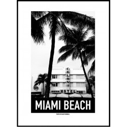 Colony Miami Beach Poster