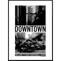 Downtown Miami Poster