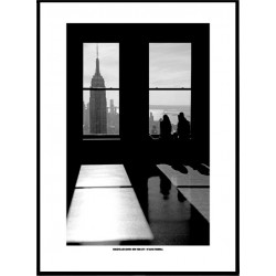 NYC Rockefeller Poster