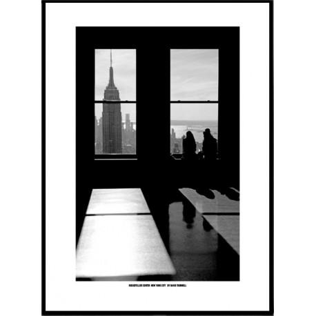 NYC Rockefeller Poster