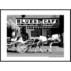 Blues Cafe Poster