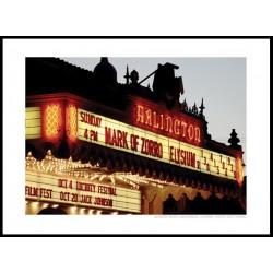 Arlington Theatre Poster