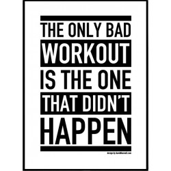 Workout Poster