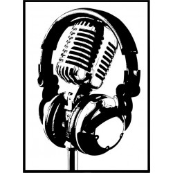 Microphone Poster