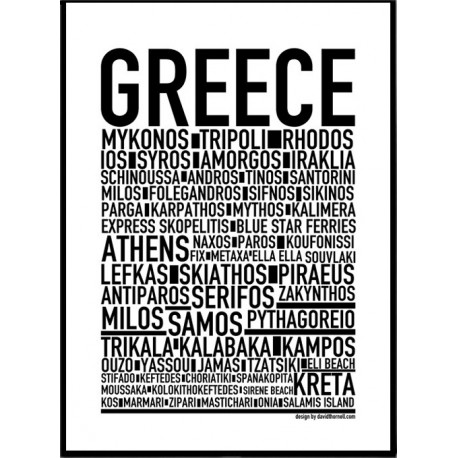 Greece Poster