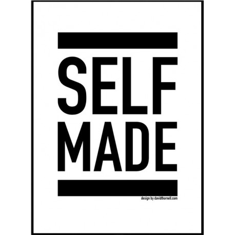 self made poster find your posters at wallstars online shop today. Black Bedroom Furniture Sets. Home Design Ideas