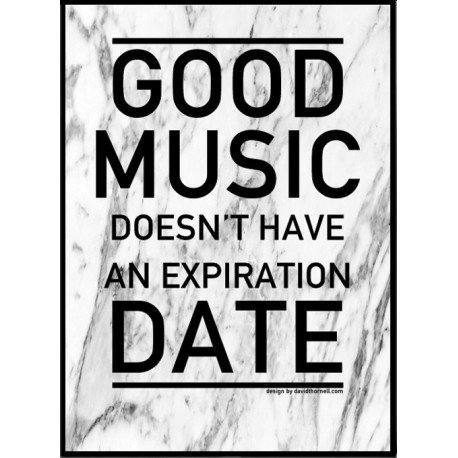 Good Music Poster