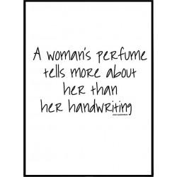 Woman's Perfume Poster
