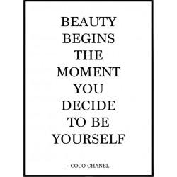 Beauty Begins Poster