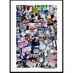Sticker Wars Poster