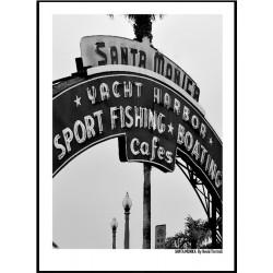 Santa Monica Pier Poster