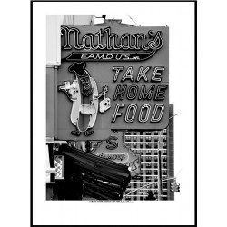 Nathans Famous Poster