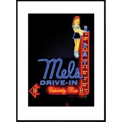 Mels LA Poster