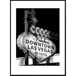 Downtown Vegas Poster