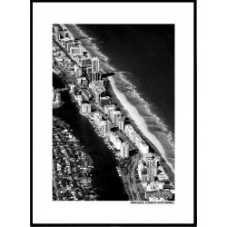 Fly Miami Beach Poster