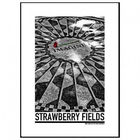 Strawberry Fielelds Poster
