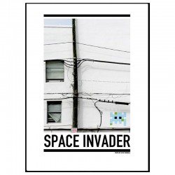 Space Invader Poster
