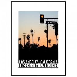 La Brea LA Poster