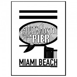 South Pointe Pier Poster