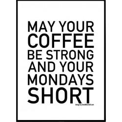 Short Mondays Poster