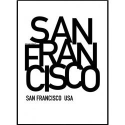San Francisco SLS Poster