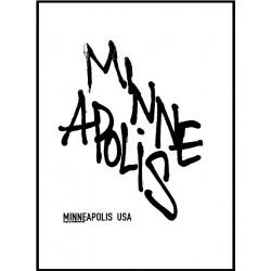 Minneapolis Tag Poster
