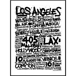 Tags Los Angeles Poster
