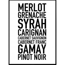 Red Wines Poster