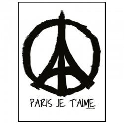 Peace Paris Poster