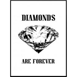 Diamonds Forever Poster