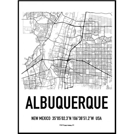1887 Albuquerque Map Poster City Posters New Mexico on living room photography html