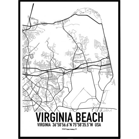 Virginia Beach Map