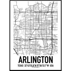 Arlington Map Poster