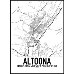 Altoona PA Map