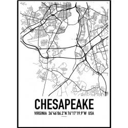 Chesapeake VA Map